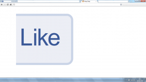 Huge Facebook Like Button