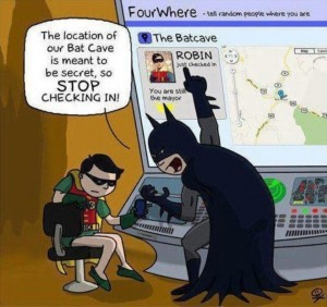 Batman Robin Foursquare